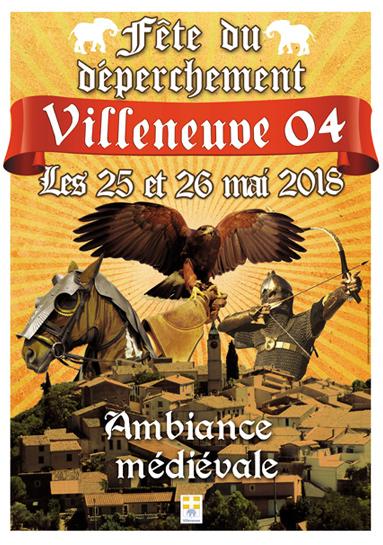 fête médiévale de Villeneuve - Alpes de Haute Provence