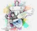 illustration skateboard