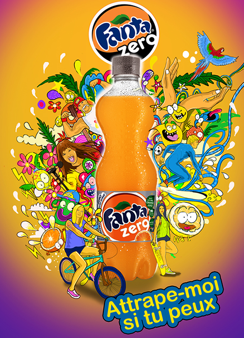 illustration Fanta