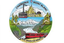 autocollant souvenirs chamonix Mont Blanc
