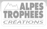 Logo officiel alpes trophées créations