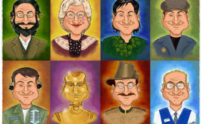 portrait Robin Williams