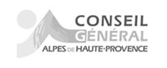 Logo officiel conseil général alpes de haute provence