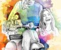 illustration Saint Tropez