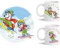 Illustration sur mugs - souvenirs